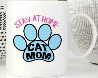stay at home cat mom etsy