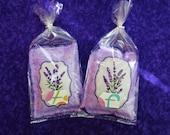 Large Lavender Sachet, Sugar Skull Lavender Sachet, Organic Lavender Sachet, Lavender Gifts, Lavender Aromatherapy, Sugar Skull Gift