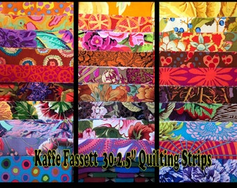 Layer Cake Several Pieces = OOPRare VHTFRetired - - Kaffe Fassett Collective 30-10 Quilting Squares