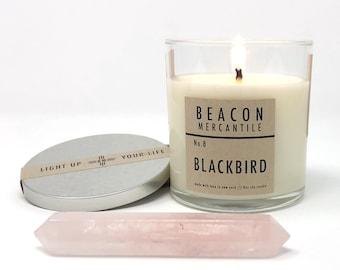 Blackbird- 8oz Soy Candle