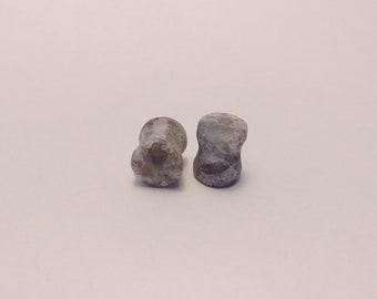 Handmade 00g Ear Gauges ( Engineered Stone)