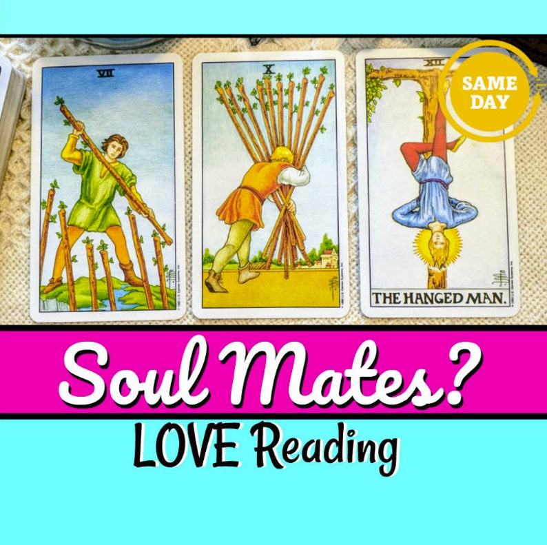 Picked By Us) Twin flames love tarot