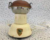 Very Rare Very Cool Peugeot Frères Electric Coffee Grinder in Working Condition