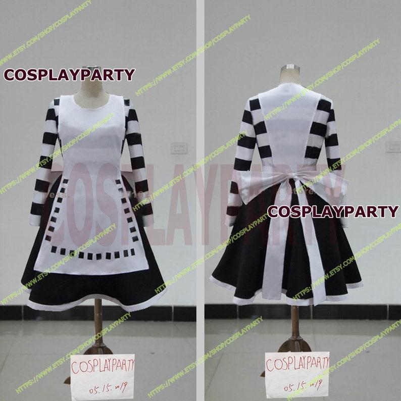 bb30e9cef734f Handmade Size Alice Madness Returns Alice Liddell Cosplay Costume