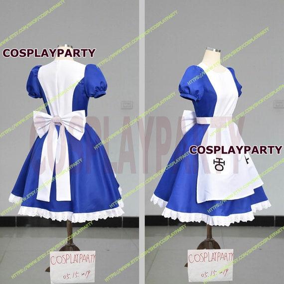 Alice Madness Returns Alice Stream cosplay costume dress Custom Size Halloween