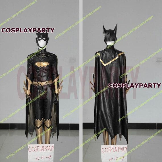 Batman Arkham Knight Batgirl Cosplay Costume Full Set