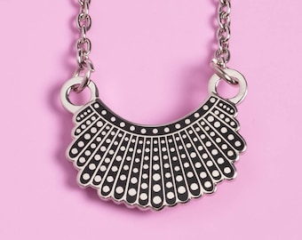 6584d5ec5 Ruth Bader Ginsburg's Dissent Collar Necklace