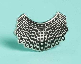 bd5896937 Ruth Bader Ginsburg's Dissent Collar Pin