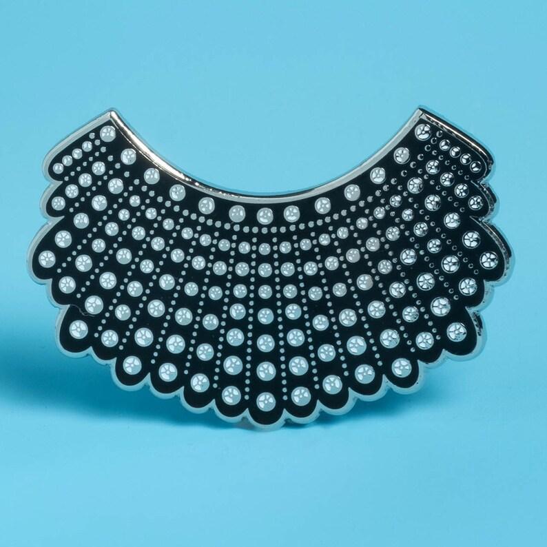 df7b30ffa Dissent Collar Pin XL Edition | Etsy