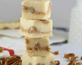 White Pecan Praline Fudge recipe PDF file