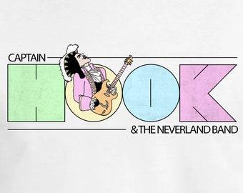Captain Hook & The Neverland Band - Vintage T-Shirt