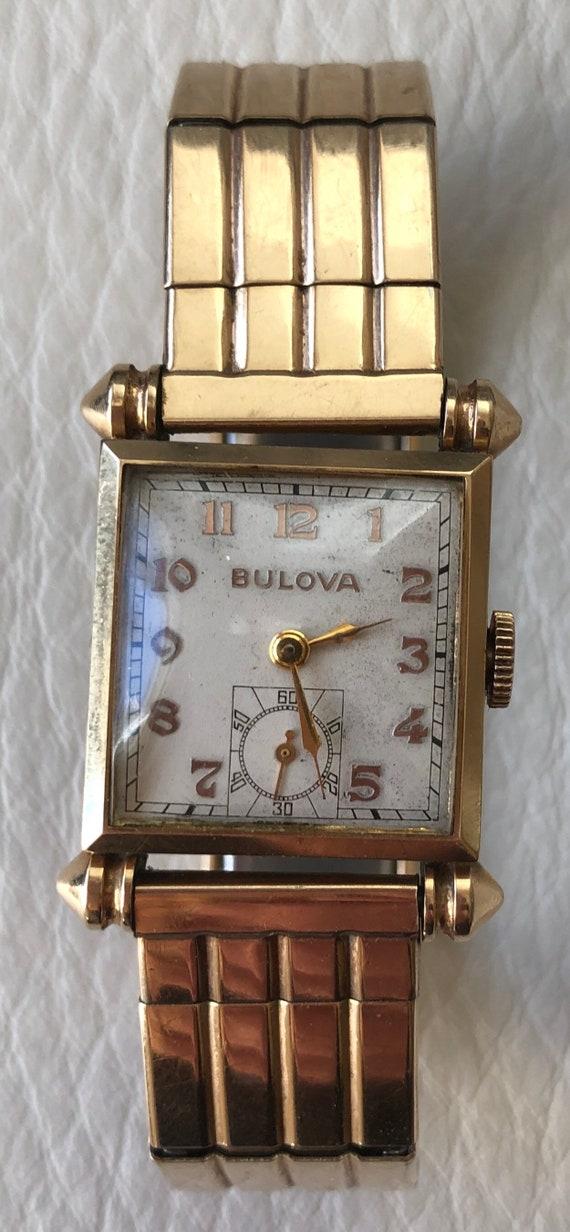 Vintage 1940s Bulova Watch