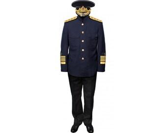 Russian Naval ADMIRAL SUIT USSR military Uniform 449bc5f0cb35