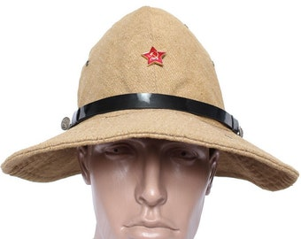 Russian Soldiers military boonie hat PANAMA Afghanka war cap 3040a9ea3c54