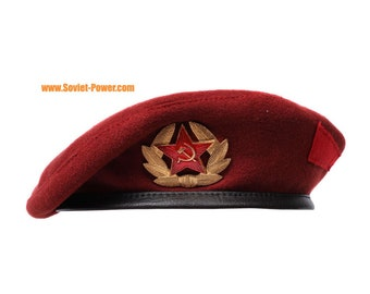 a907ef46f1655 Maroon Beret military Russian Spetsnaz hat