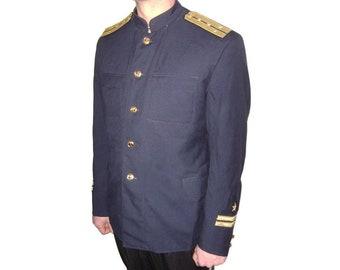 USSR Navy Fleet Officers blue jacket