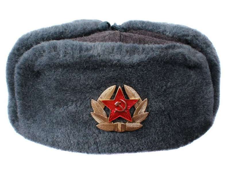 73b368b23416e Russian   Soviet Army Sergeants USHANKA winter hat