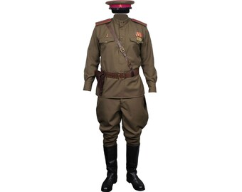 Soviet Army RKKA Infantry Russian Officers Uniform