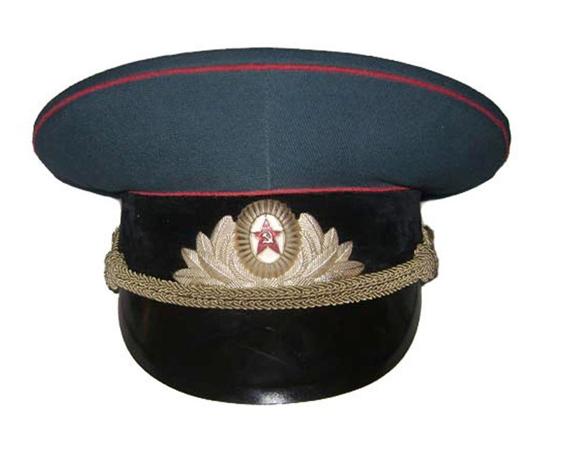 01e461871 Tank Troops and Artillery Officers Russian visor hat