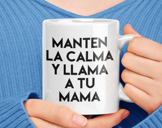 Regalo para estudiante - manten la calma y llama a tu mama - Para Hijo Hija