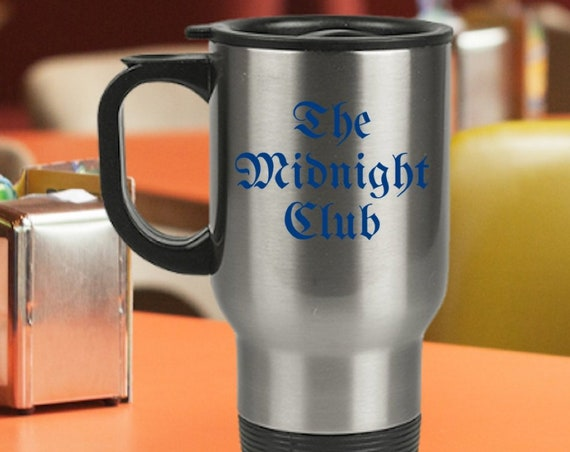 The midnight club coffee tea travel mug - tv fandom