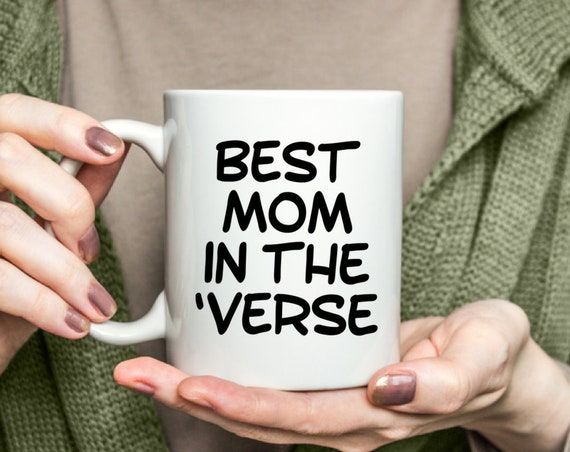 Scifi mug  best mom in the 'verse coffee tea cup  browncoat gift