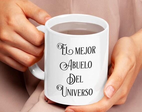 Regalo para abuelo - el mejor abuelo del universo taza de cafe te