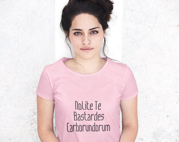 Nolite te Bastardes Carborundorum Unisex T-Shirt - Back to School Tee