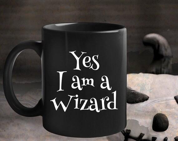 Halloween Themed Mug Yes I Am A Wizard fandom coffee mug tea cup Cosplay gift