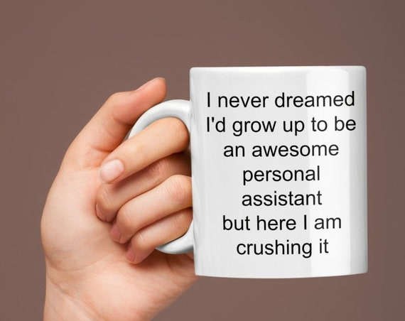 Best personal assistant coffee mug - awesome assistant cute coffee cup