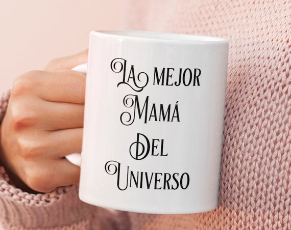 Regalo para Mama - la Mejor Mama del Universo - taza de cafe