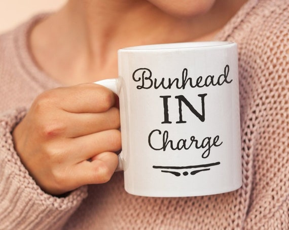 Ballet teacher gifts - bunhead in charge coffee mug - tea cup for dance instructor