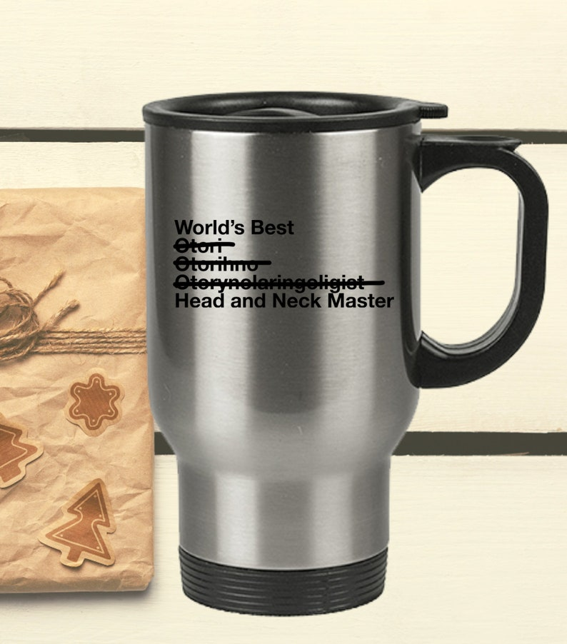 Ear Nose And Throat Doctor Gift  World's Best Head And image 0