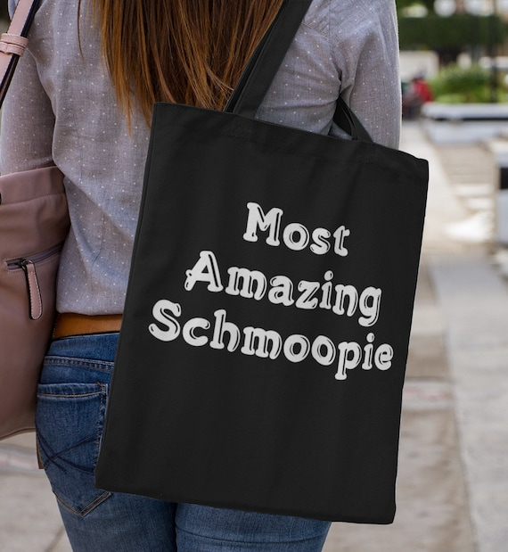 Anniversary Gift - Most Amazing Schmoopie Tote bag - For Boyfriend Girlfriend Fiance Husband Wife