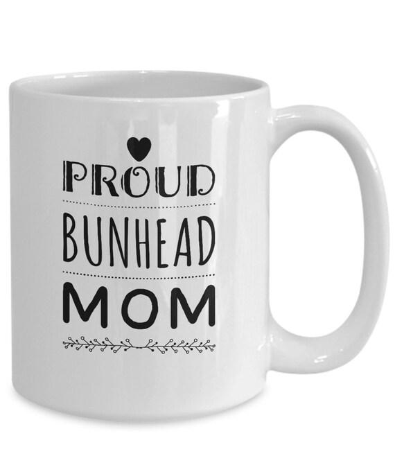 Ballet mom mug - proud bunhead mom coffee or tea cup gift - Ballet Related Gifts