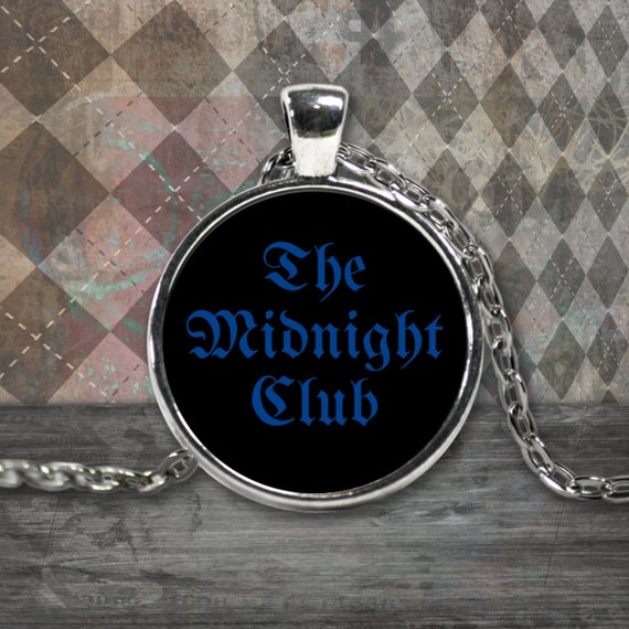 Gift for teens - the midnight club necklace - larp - larping - tv fandom