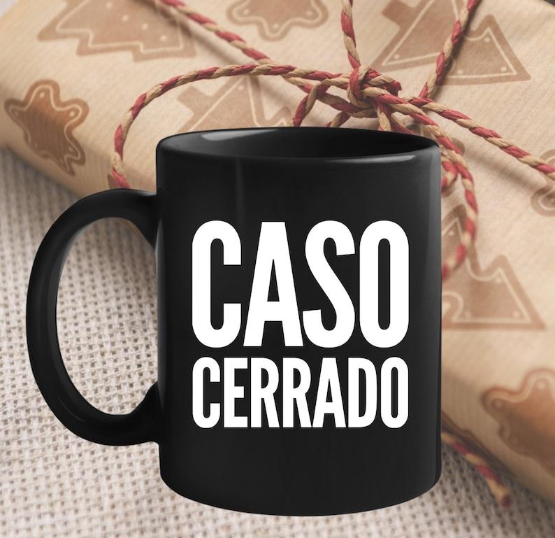 Regalo Para Abogado Abogada  Caso Cerrado Taza De Cafe  Mugs image 0