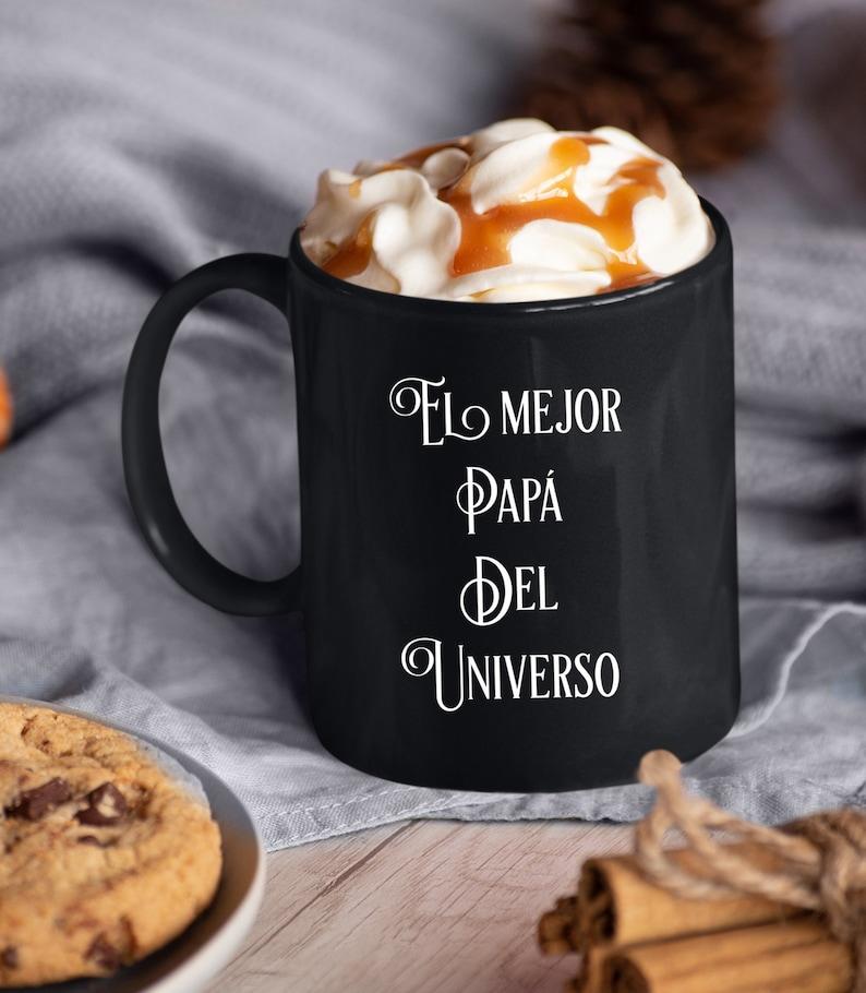 Regalo Para Papa  El Mejor Papa Del Universo  Taza De Cafe  image 0