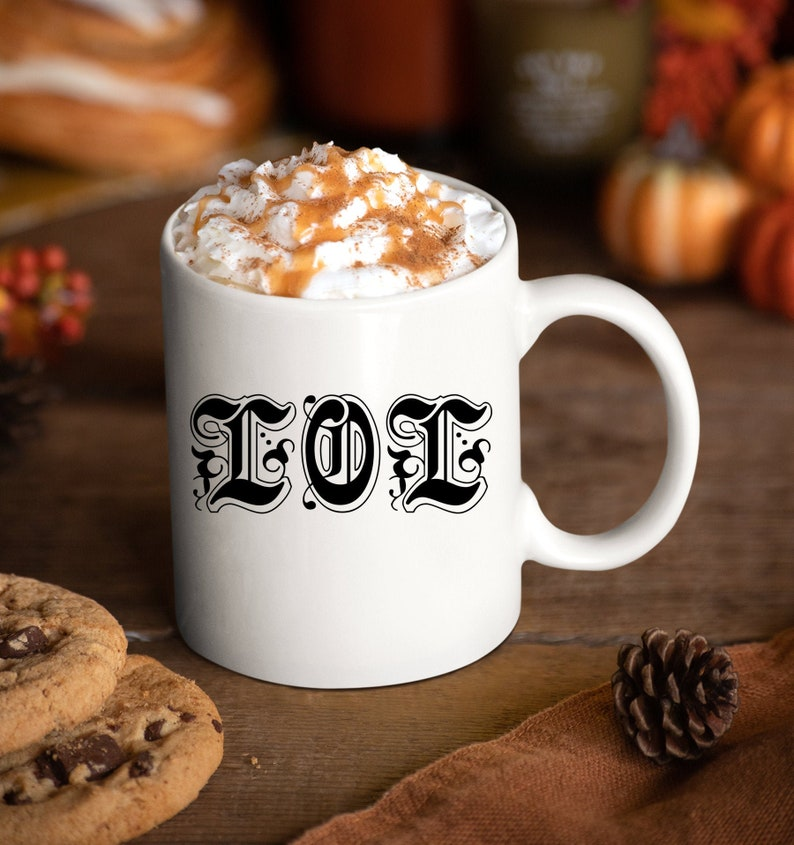 Social Media Manager Gift  LOL Laugh Out Loud Coffee Mug  image 0