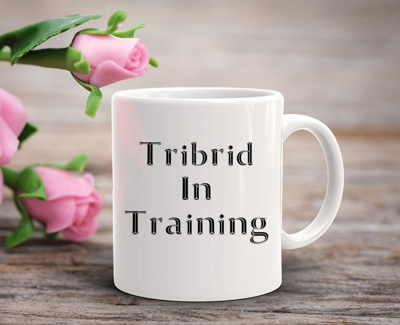 Fantasy Gift  Tribrid In Training Coffee Mug  Werewolf image 0