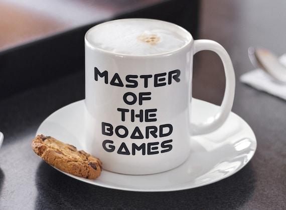 Board game mug - master of the board games coffee tea cup