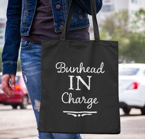 Ballet Teacher Gift - Bunhead in Charge Tote Bag