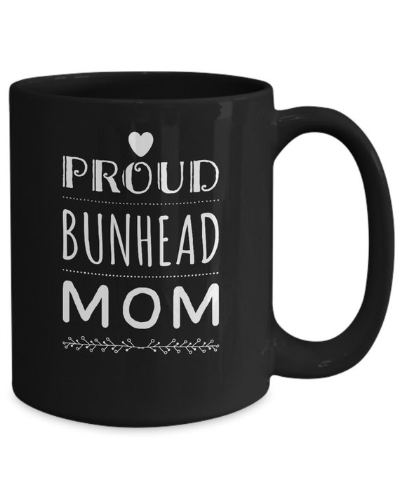 Ballet mom mug  proud bunhead mom black coffee or tea cup gift