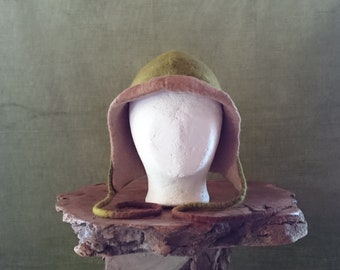 Merino wool felted hat