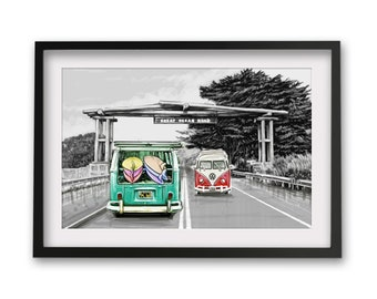 Victoria Great Ocean Road Travel Print/ Poster
