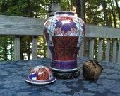 Vintage Imari Large Ginger Jar Lamp Base 15 quot