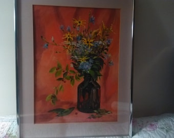 Oil on canvas Signed Warren Goodrich Fine Art Studio Framed