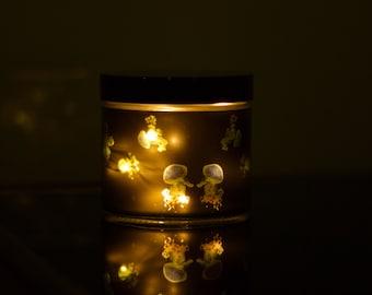 Fairy light jar - Jelly Fish (Blue-green)