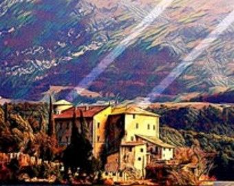 Waterslide decal - Lake Garda