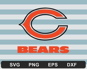 Chicago Bears NFL Logo SVG - Digital Files download svg dxf eps png